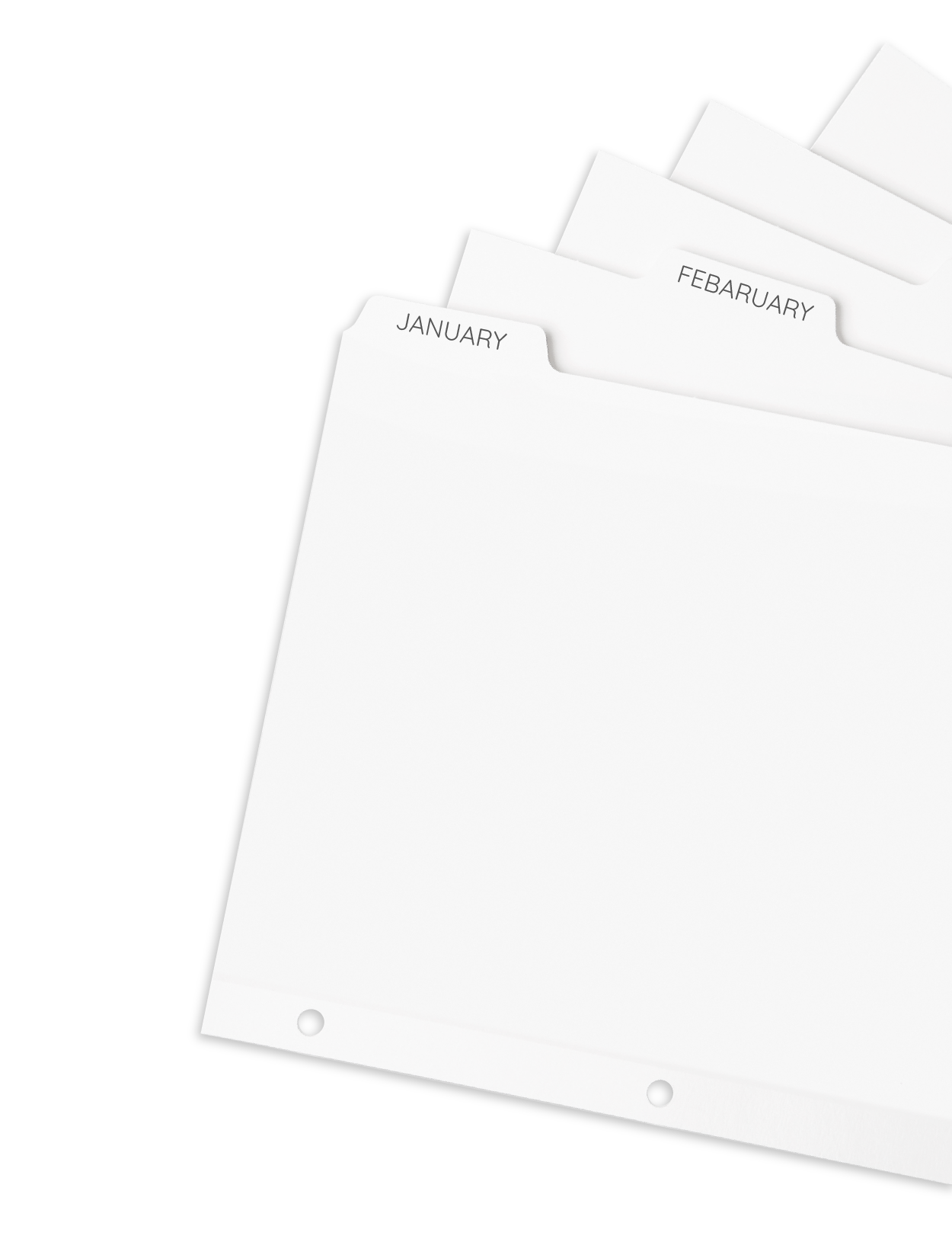 The Story of Marty and the Free Tabbed Divider Template