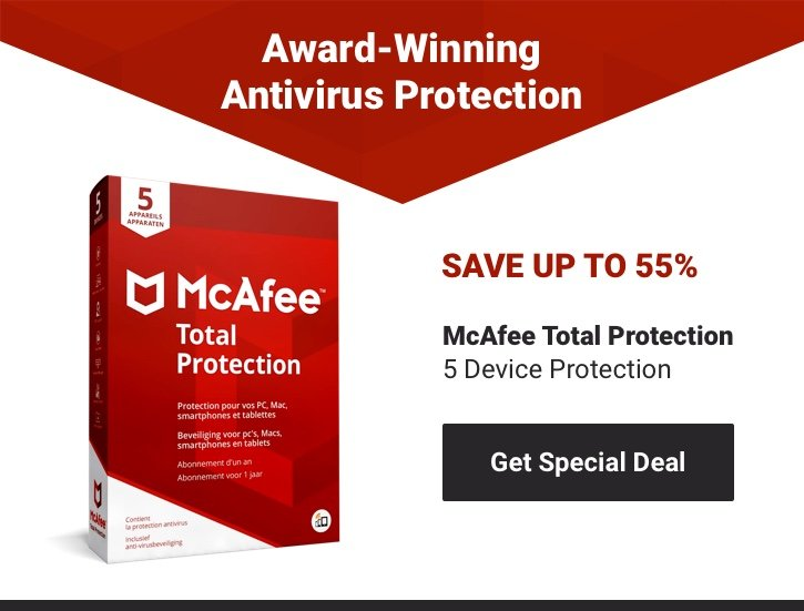 mcafee total security trial