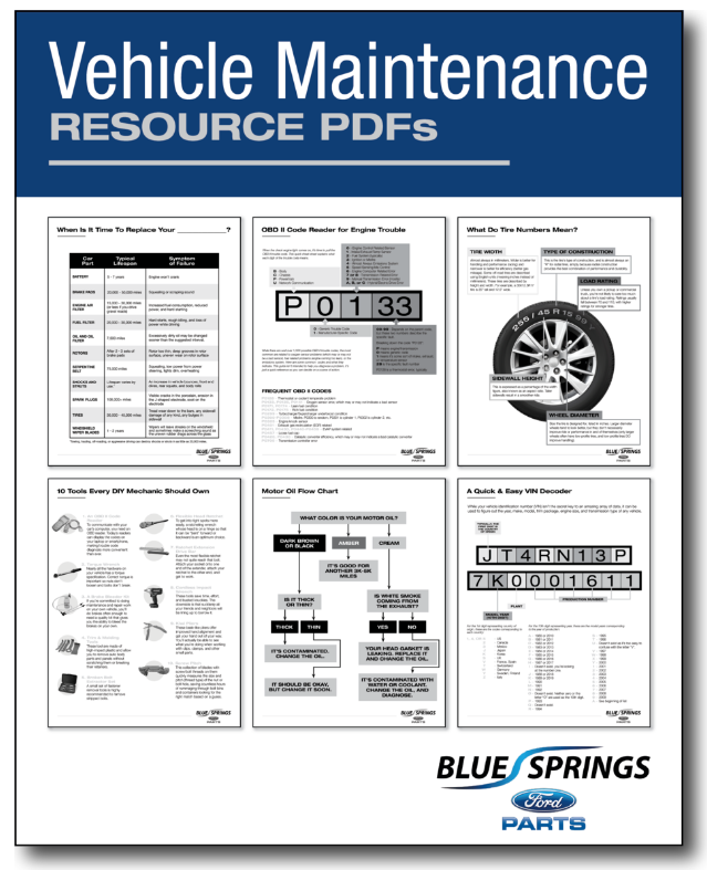 DTC Decoded: P0100: Genuine Ford Parts - OEM Ford Parts