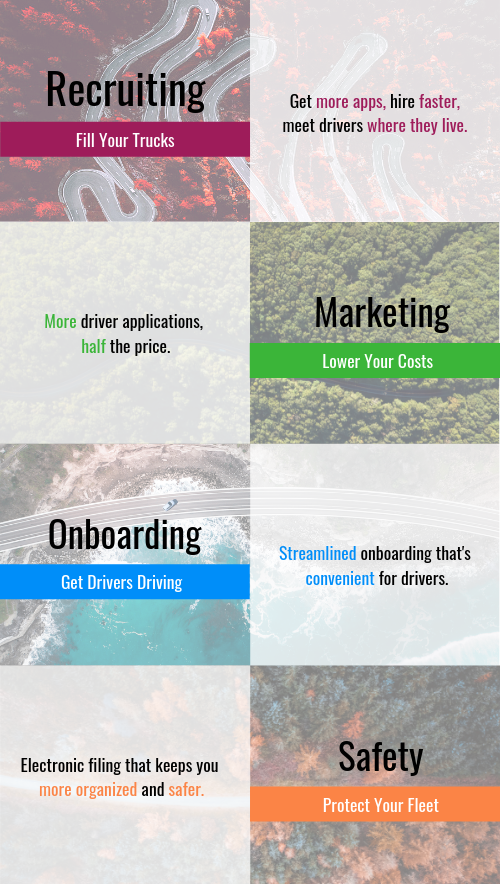 Integrated Driver Recruiting Software | Tenstreet