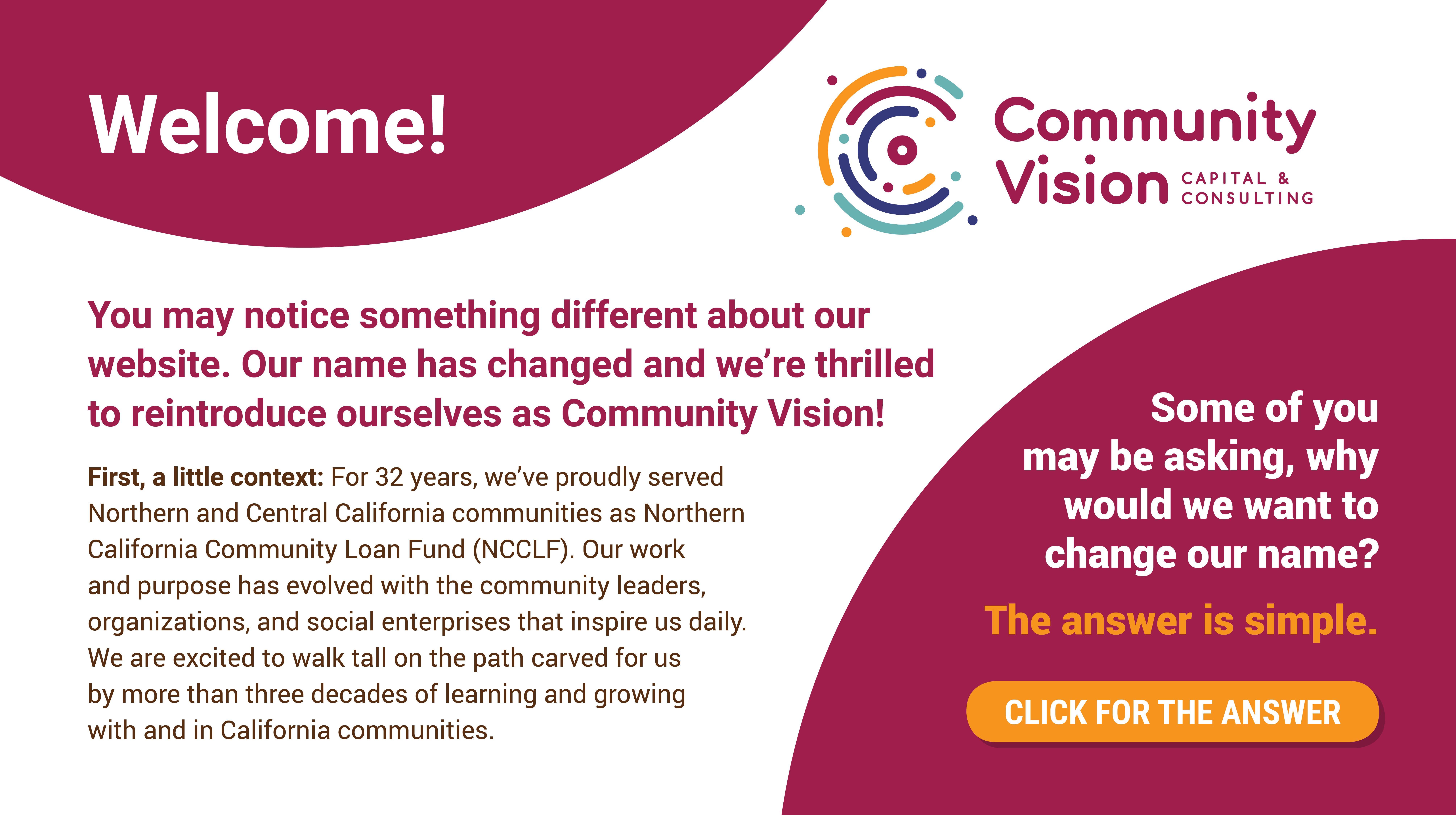 Home - Community Vision
